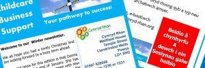 Cymryd Rhan childcare business support