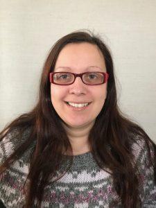 Helen Baynham, area manager for Cymryd Rhan in Powys