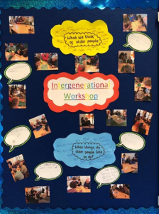 What do we think of older people? A poster made by toddlers