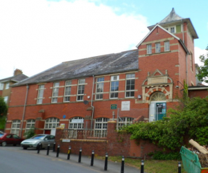Cymryd Rhan are hoping to purchase the old Brecon Grammar School